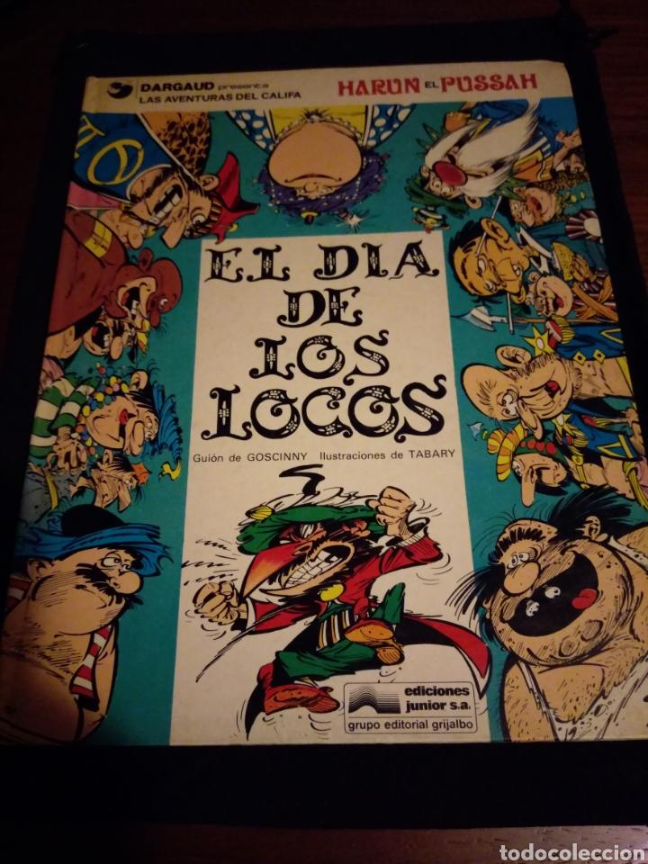 EL DÍA DE LOS LOCOS. LAS AVENTURAS DEL CALIFA HARUN EL PUSSAH. GOSCINNY, TABARY (Tebeos y Comics - Grijalbo - Iznogoud)