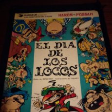 Cómics: EL DÍA DE LOS LOCOS. LAS AVENTURAS DEL CALIFA HARUN EL PUSSAH. GOSCINNY, TABARY. Lote 148488738