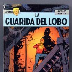 Cómics: LEFRANC Nº 4 LA GUARIDA DEL LOBO MARTÍN JUNIOR GRIJALBO 1988. Lote 148919030