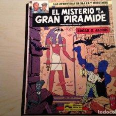 Cómics: EL MISTERIO DE LA GRAN PIRÁMIDE 1ª Y 2ª PARTE. Lote 148966134