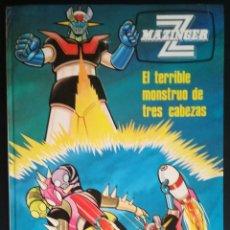 Cómics: COMIC MAZINGER Z, Nº 5: EL TERRIBLE MONSTRUO DE TRES CABEZAS; GRIJALBO. Lote 149005018