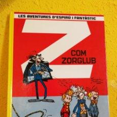 Comics: SPIRÚ I FANTÀSTIC -Nº17.Z COM ZORGLUB-GRIJALBO -FRANQUIN-CATALÀ. Lote 149354554