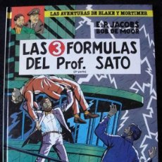 Cómics: LAS 3 FORMULAS DEL PROFESOR SATO - 2ª PARTE -. Lote 149464494