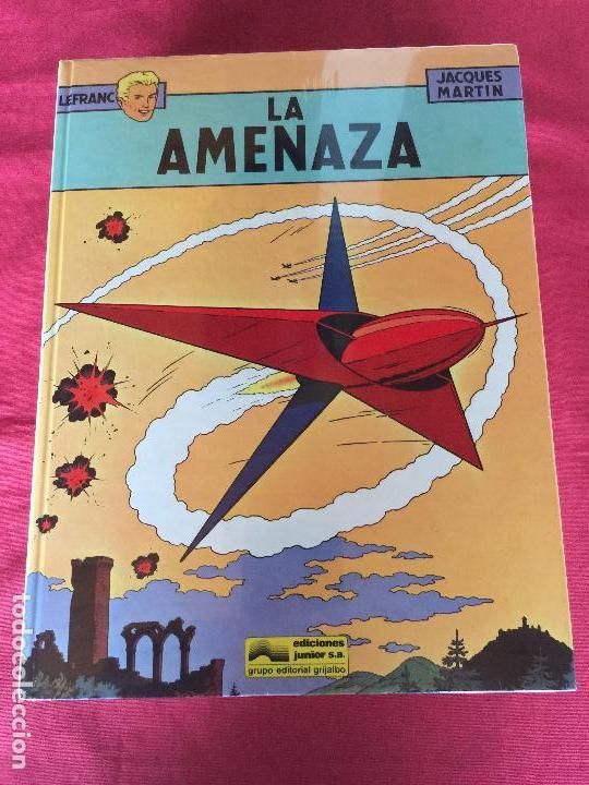 GRIJALBO LEFRANC COMPLETA 10 NUMEROS MUY BUEN ESTADO REF.TD6 (Tebeos y Comics - Grijalbo - Lefranc)