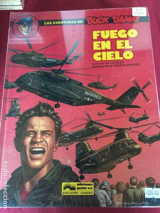 GRIJALBO LAS AVENTURAS DE BUCK DANNY NUMERO 43 BUEN ESTADO REF.TD1 (Tebeos y Comics - Grijalbo - Buck Danny)