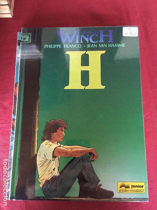 GRIJALBO LARGO WINCH NUMERO 5 MUY BUEN ESTADO REF.TD1 (Tebeos y Comics - Grijalbo - Largo Winch)