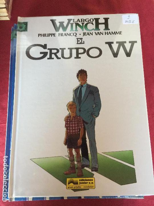 GRIJALBO LARGO WINCH NUMERO 2 MUY BUEN ESTADO REF.TD1 (Tebeos y Comics - Grijalbo - Largo Winch)