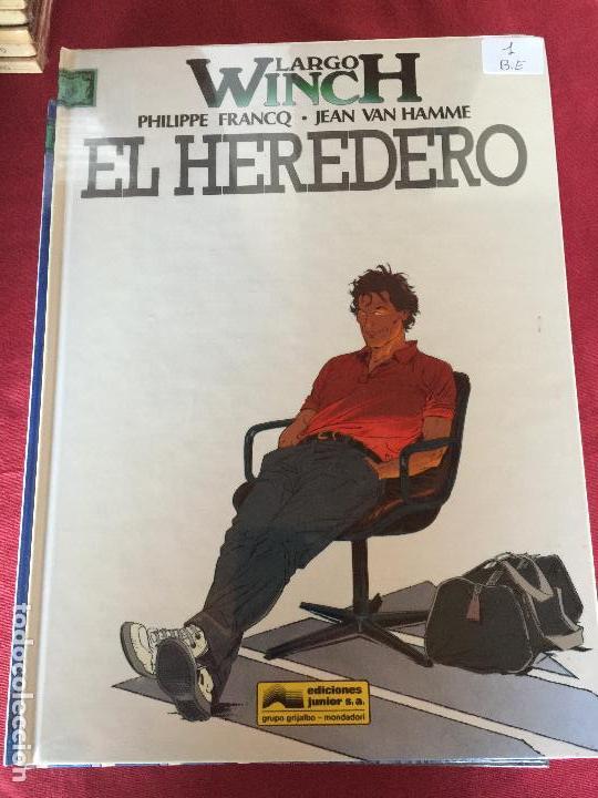 GRIJALBO LARGO WINCH NUMERO 1 MUY BUEN ESTADO REF.TD1 (Tebeos y Comics - Grijalbo - Largo Winch)