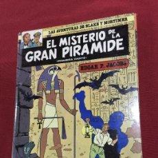 Cómics: GRIJALBO LAS AVENTURAS DE BLAKE Y MORTIMER TOMO 1 MUY BUEN ESTADO REF.TD3. Lote 149553430