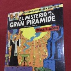 Cómics: GRIJALBO LAS AVENTURAS DE BLAKE Y MORTIMER TOMO 2 MUY BUEN ESTADO REF.TD3. Lote 149553514