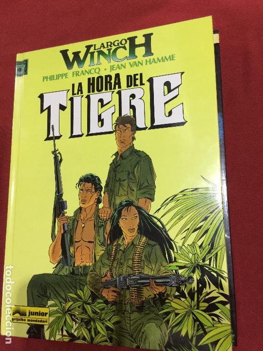 GRIJALBO LARGO WINCH TOMO 8 MUY BUEN ESTADO REF.TD3 (Tebeos y Comics - Grijalbo - Largo Winch)