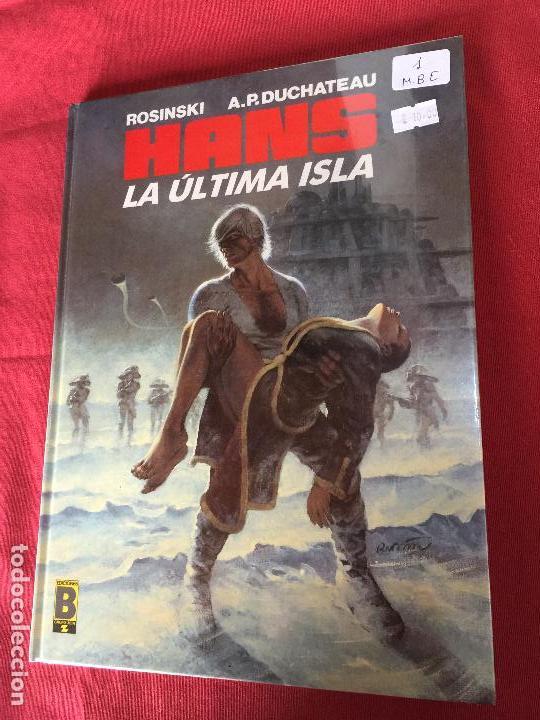 EDICIONES B HANS LA ULTIMA ISLA NUMERO 1 MUY BUEN ESTADO (Tebeos y Comics - Grijalbo - XIII)