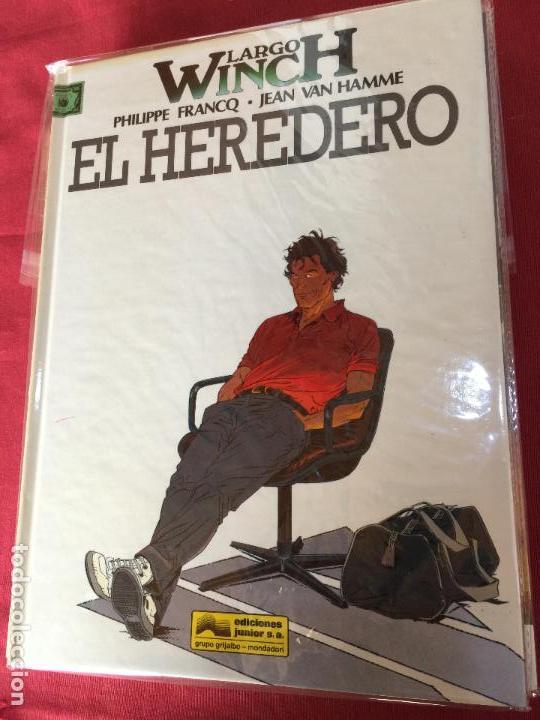 GRIJALBO LARGO WINCH NUMERO 1 MUY BUEN ESTADO (Tebeos y Comics - Grijalbo - Largo Winch)
