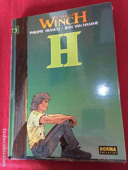 GRIJALBO LARGO WINCH NUMERO 5 MUY BUEN ESTADO (Tebeos y Comics - Grijalbo - Largo Winch)