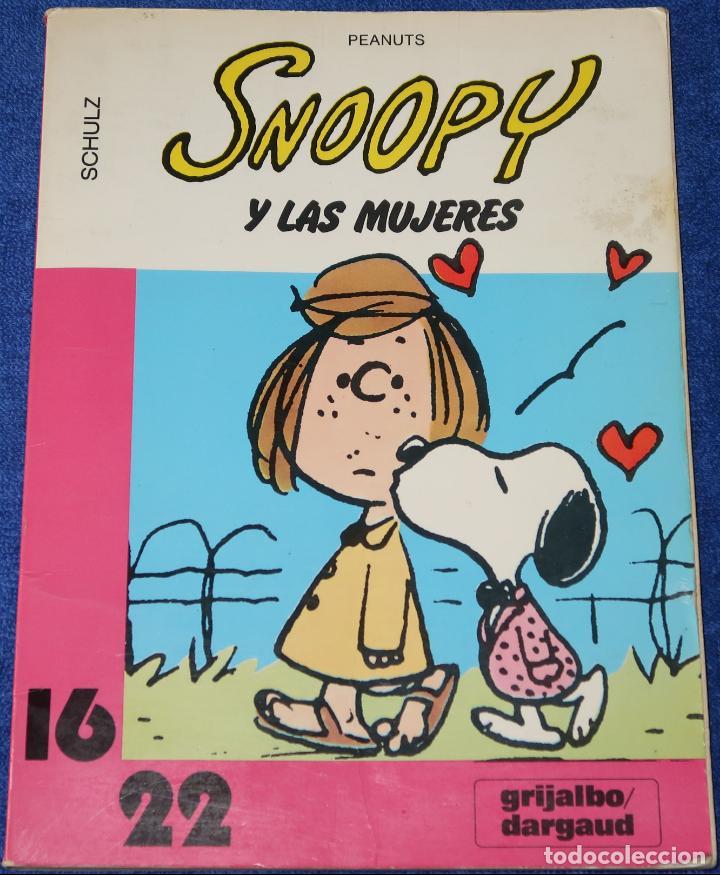 SNOOPY Y LAS MUJERES - SCHULZ - PEANUTS - GRIJALBO - DARGAUD (1982) (Tebeos y Comics - Grijalbo - Otros)