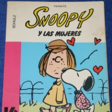 Cómics: SNOOPY Y LAS MUJERES - SCHULZ - PEANUTS - GRIJALBO - DARGAUD (1982). Lote 149705934