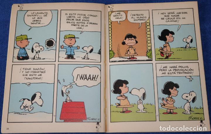 Cómics: Snoopy y las mujeres - Schulz - Peanuts - Grijalbo - Dargaud (1982) - Foto 3 - 149705934