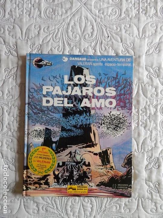 UNA AVENTURA DE VALERIAN AGENTE ESPACIO TEMPORAL - LOS PAJAROS DEL AMO N. 4 (Tebeos y Comics - Grijalbo - Valerian)