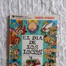 Cómics: LA AVENTURA DEL CALIFA - HARUN EL PUSSAH - EL DIA DE LOS LOCOS N. 2. Lote 149708838