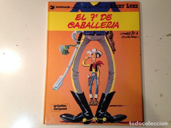 LUCKY LUKE 7º CABALLERIA, CARAVANA, MISSISIPI LOTE 3 EJEMPLARES (Tebeos y Comics - Grijalbo - Lucky Luke)