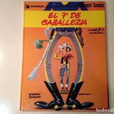 Cómics: LUCKY LUKE 7º CABALLERIA, CARAVANA, MISSISIPI LOTE 3 EJEMPLARES. Lote 149739434