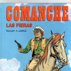 Comics : COMANCHE. Nº 11. LAS FIERAS. ROUGE & GREG. GRIJALBO/DARGAUD 1992. Lote 150342142