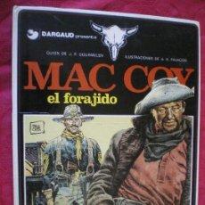 Cómics: MAC COY. EL FORAJIDO. GRIJALBO DARGAUD.. Lote 150543246