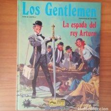 Cómics: LOS GENTLEMEN 5 LA ESPADA DEL REY ARTURO. CASTELLI TACCONI. COMIC JUNIOR GRUJALBO TAPA DURA 1983. Lote 150549962