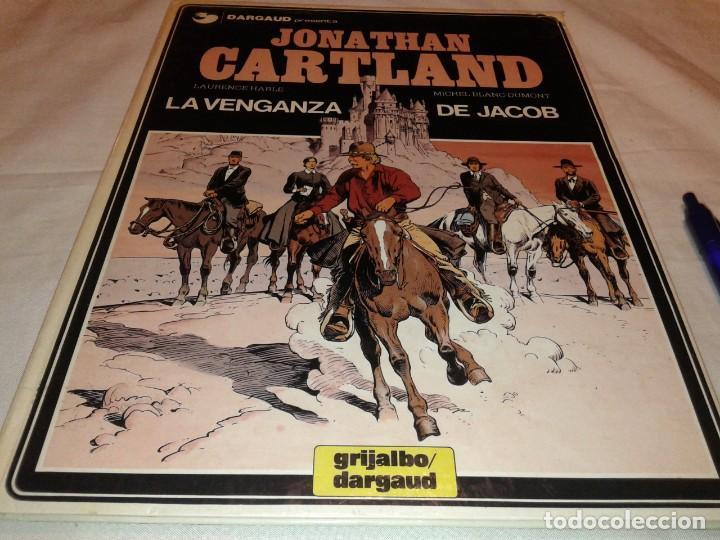 JONATHAN CARTLAND, LA VENGANZA DE JACOB (Tebeos y Comics - Grijalbo - Otros)