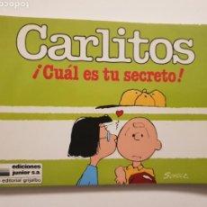 Cómics: CARLITOS. !CUAL ES TU SECRETO! NUM. 3. Lote 150675984