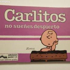 Cómics: CARLITOS. NO SUEÑES DESPIERTO. NUM. 9. Lote 150676448