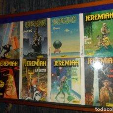 Cómics: JEREMIAH NºS 4 5 6 7 8 10 11 12. GRIJALBO 1981. HERMANN. . Lote 150722722