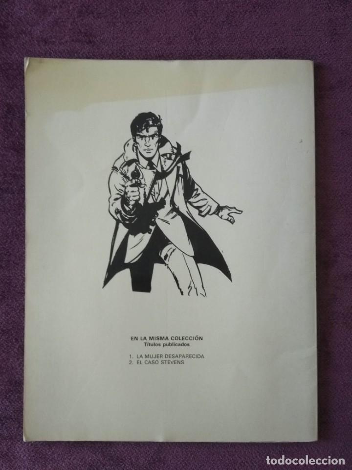 Cómics: HARRY CHASE 2: EL CASO STEVENS - DROLE DE BOBINE ED. GRIJALBO 1982 - Foto 2 - 151076818