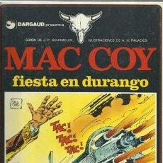 Cómics: MAC COY 10: FIESTA EN DURANGO, 1983, GRIJALBO, MUY BUEN ESTADO. Lote 151183526