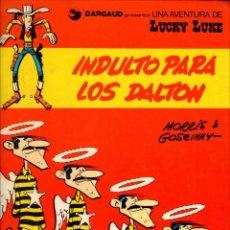 Cómics: DOS COMICS DE LUCKY LUKE - INDULTO PARA LOS DALTON + LA DILIGENCIA. Lote 151373754