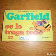 Cómics: GARFIELD SE LO TRAGA TODO. JIM DAVIS. Nº 27. EDT. GRIJALBO JUNIOR, 1997. Lote 151376382