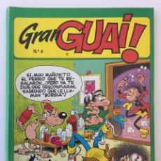 Cómics: CÓMIC GRAN GUAY Nº4 – EDICIONES JUNIOR S.A – EDITORIAL GRIJALBO 1986. Lote 151378926