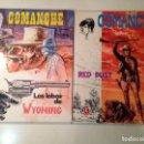 Cómics: COMANCHE HERMANN GREG LOTE 6 EJEMPLARES. Lote 151476386