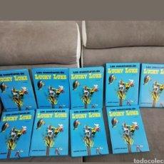 Cómics: LAS AVENTURAS DE LUCKY LUKE 9 VOLÚMENES GRIJALBO. Lote 151537590