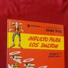 Cómics: LUCKY LUKE 13 - INDULTO PARA LOS DALTON - MORRIS & GOSCINNY - CARTONE. Lote 151574854