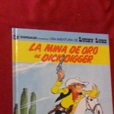 Cómics: LUCKY LUKE 49 - LA MINA DE ORO DE DICKDIGGER - MORRIS & GOSCINNY - CARTONE. Lote 151575050