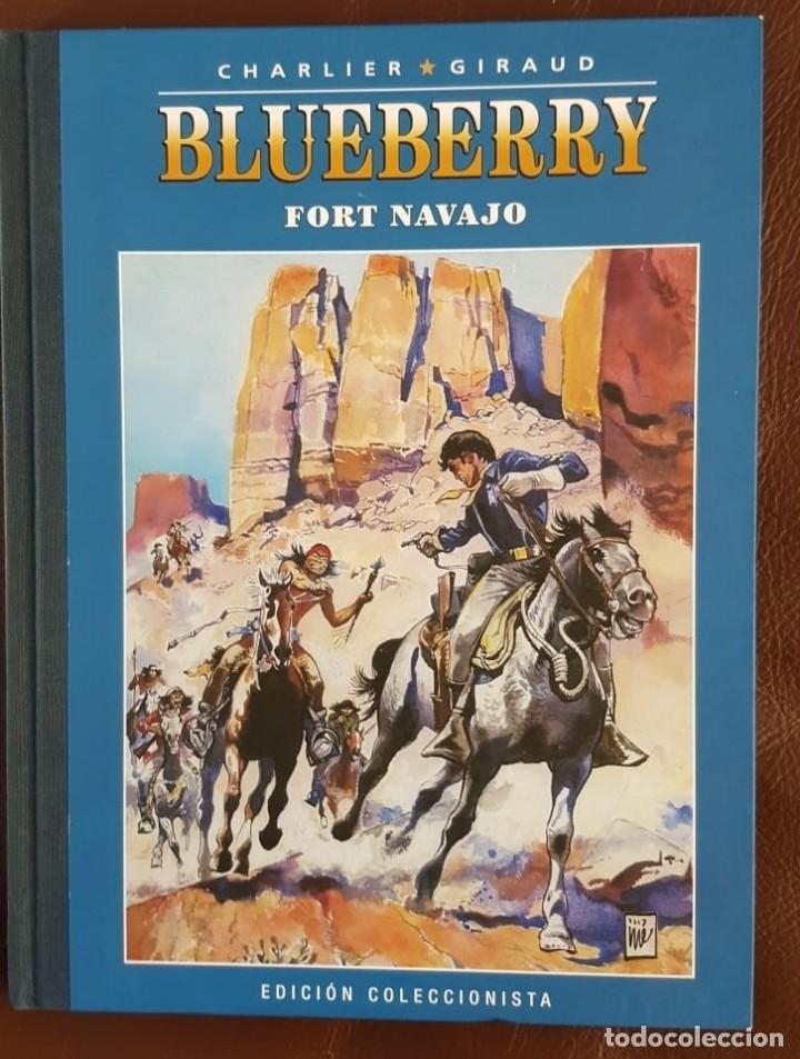 BLUEBERRY. Nº 1. FORT NAVAJO. CHARLIER . GIRAUD. EDICIÓN COLECCIONISTA - LOMO EN TELA (Tebeos y Comics - Grijalbo - Blueberry)