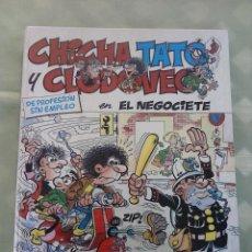 Cómics: CHICHA, TATO Y CLODOVEO EN EL NEGOCIETE. EDICIONES JUNIOR 1987. Lote 151611682