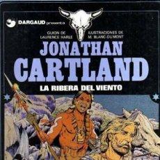 Cómics: JONATHAN CARTLAND Nº 3 LA RIBERA DEL VIENTO - GRIJALBO - CARTONE - MUY BUEN ESTADO - OFF15. Lote 151614546