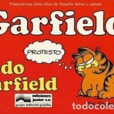 Cómics: GARFIELD. LOTE CON LOS NUMEROS 1 AL 7 (ED. JUNIOR) - OFSF15. Lote 151989678