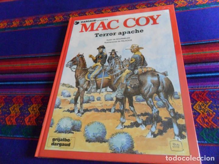 PRECINTADO, MAC COY Nº 17 TERROR APACHE. GRIJALBO 1992. MUY DIFÍCIL. (Tebeos y Comics - Grijalbo - Mac Coy)