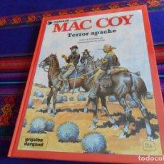 Cómics: PRECINTADO, MAC COY Nº 17 TERROR APACHE. GRIJALBO 1992. MUY DIFÍCIL.. Lote 152724946