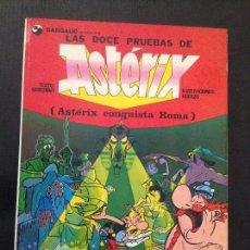 Cómics: LAS DOCE PRUEBAS DE ASTERIX 1976. Lote 153098506