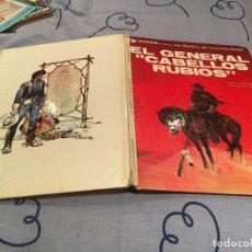 Cómics: TENIENTE BLUEBERRY-EL GENERAL CABELLOS RUBIOS Nº 6 CHARLIER GIRAUD GRIJALBO/DARGAUD AÑO 1980. Lote 153107254