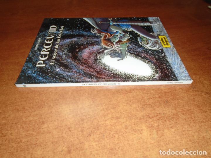 Cómics: PERCEVAN Nº 10: EL SEÑOR DE LAS ESTRELLAS. EDITORIAL GRIJALBO 1998 TAPA DURA - Foto 2 - 153413826